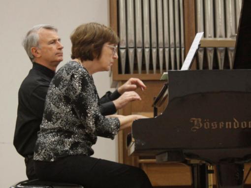 Клавирно дуо Дора и Анастас Славчеви